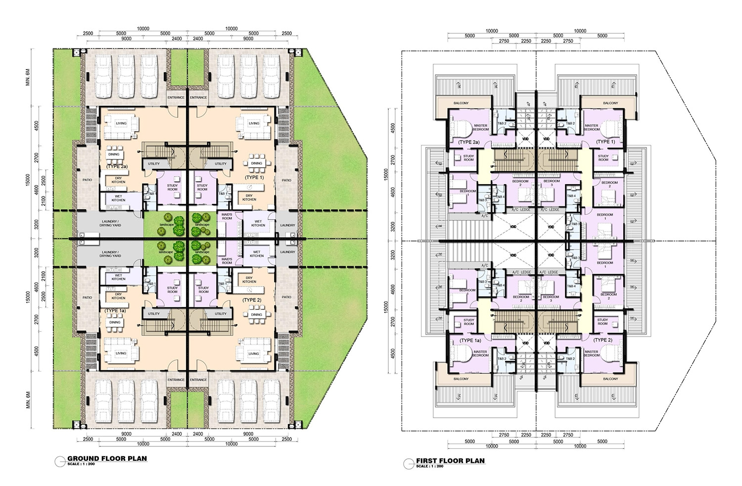 Quadruplex floor plans carpet vidalondon for Quadruplex floor plans