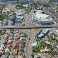 With the completion of the flyover, motorists can now enjoy smooth traffic flow between the city centre and the airport.