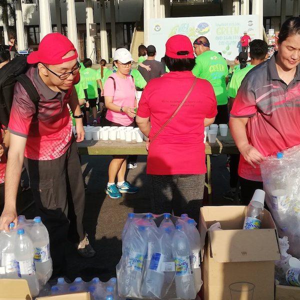 HSL Helped Coordinate NREB Enviro Run In Kuching