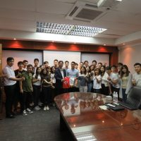 HSL hosted civil engineers and professionals from Chun Wo Young Professional Group, Hong Kong