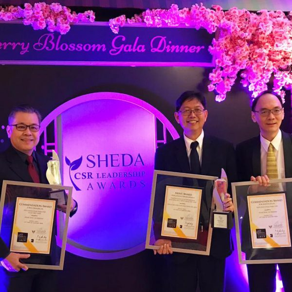 HSL wins three SHEDA awards