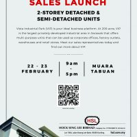 VIP Sales Launch 2-storey detached and semi detached units
