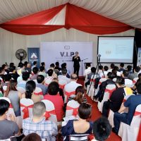 VIP ATTRACTS LARGE CROWD 200-acre Industrial Park A Hit with SMEs and Investors