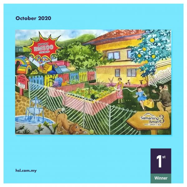 Samariang Aman 3, Colour & Win, October 2020