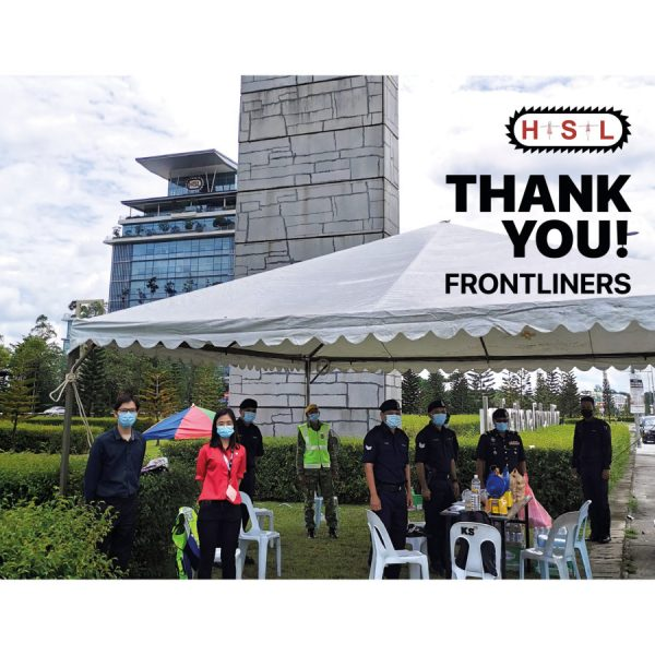 THANK YOU FRONTLINERS