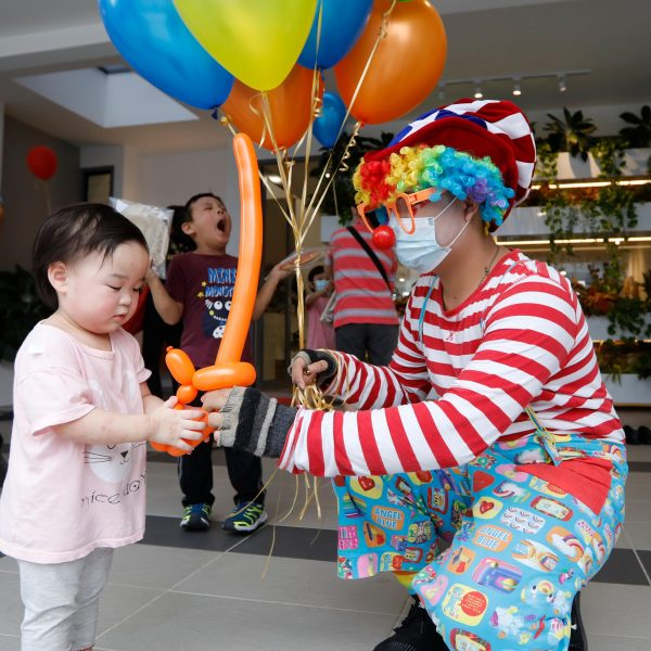 SMILES ALL ROUND AND AMAZING CREATIVITY SHOWN AT LA PROMENADE'S FAMILY FUN WEEKEND