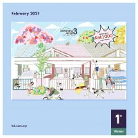 COLOUR & WIN, FEB 2021, SAMARIANG AMAN 3