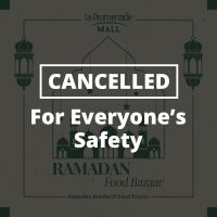 FOLLOWING GOV DIRECTIVE, RAMADAN BAZAAR AT LA PROMENADE CANCELLED