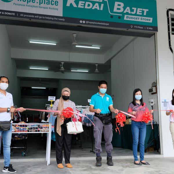 HOPE PLACE KEDAI BAJET OPENS AT HSL'S EDEN CENTRE