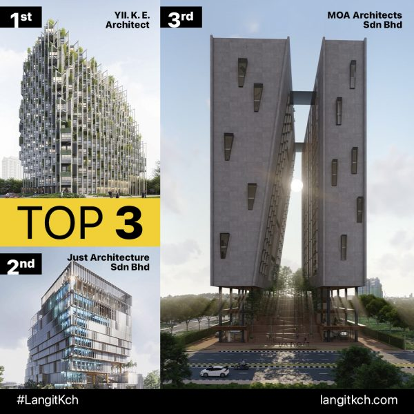 ARCHITECTURAL COMPETITION, LANGIT,  WINNERS ANNOUNCED